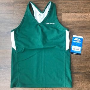 Brooks Racerback Tank Team Shimmel